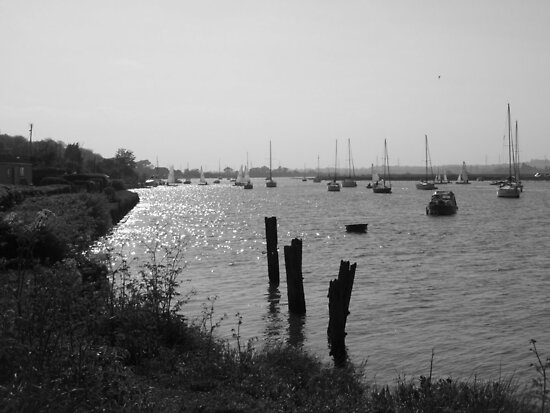 The River Crouch by Vicki Spindler (VHS Photography)