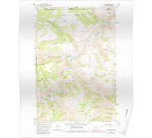 USGS Topo Map Oregon Troy 281880 1967 24000 Poster