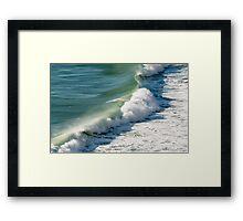 Piha Surf - Northland NZ Framed Print