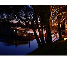 Murray River Scene @ Evening Photographic Print