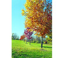 Valley Forge Autumn, Pennsylvania Photographic Print