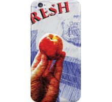 Fresh Peach Tote iPhone Case/Skin