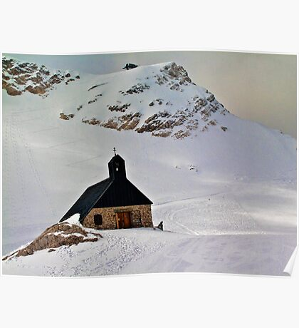 Highest church in Germany Poster
