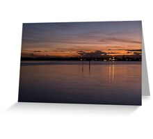 Forster Sunset Greeting Card