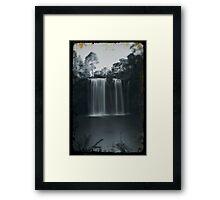 Vintage Dangar Falls, Dorrigo - I Framed Print