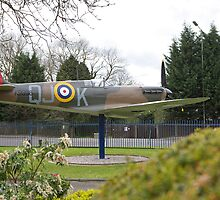 A spitfire gate guardian, Biggin Hill. by Keith Larby