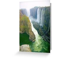 Victoria Falls, Zambia  Greeting Card