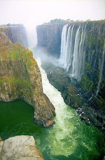 Victoria Falls, Zambia  by Alberto  DeJesus