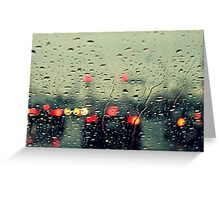 Still raining Greeting Card