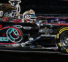 Vodafone Formula 1 by Stephen Scott-Robertson