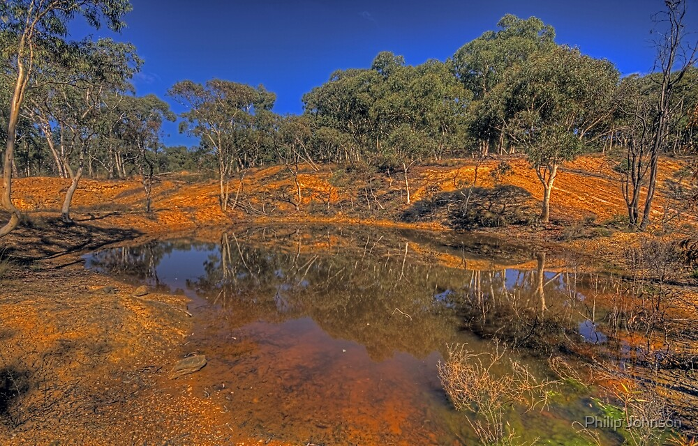 Reflective Memories - Hill End, NSW Australia - The HDR Experience by Philip Johnson