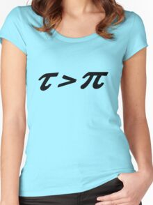Tau pi Women's Fitted Scoop T-Shirt