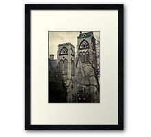 Old Gothic church ©  Framed Print