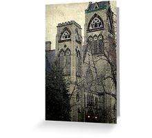 Old Gothic church ©  Greeting Card