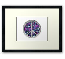 Planet Peace iPhone / Samsung Galaxy Case Framed Print