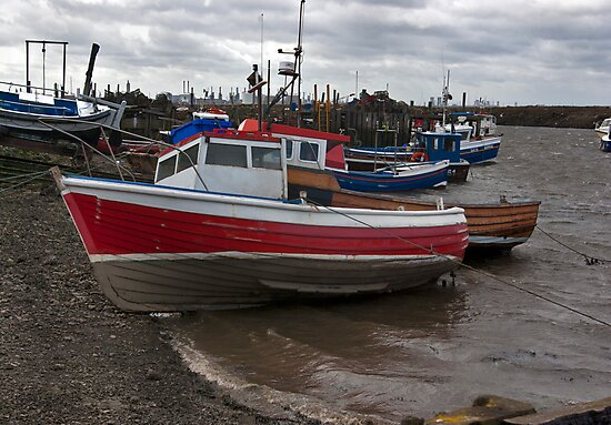 The Boats  -  Paddy's Hole. by Trevor Kersley