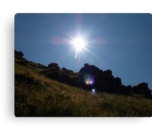 Brightness of the Sun Canvas Print