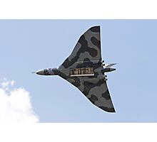 A vulcan bomber with it's Bomb Bay open Photographic Print