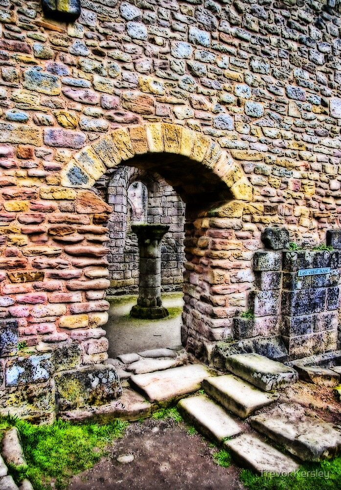 The Doorway  -  Fountains Abbey by Trevor Kersley