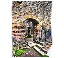 The Doorway  -  Fountains Abbey Poster
