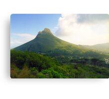 Capetown Landscape, South Africa Canvas Print