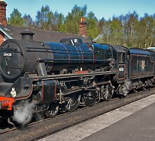 "No 45428  ""Eric Treacy"" Steam Train  - Grosmont. by Trevor Kersley"