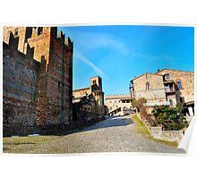 Castell'Arquato-Italy Poster