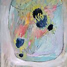 jar of sunflowers by Brooke Wandall
