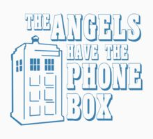 The Angels Have the Phone Box by deomatis