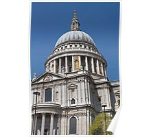 St Paul's Cathedral, London, a closer look. Poster