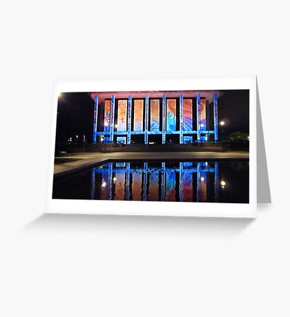 National Library Enlightened #1. Greeting Card