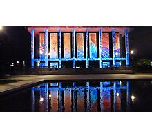 National Library Enlightened #1. Photographic Print