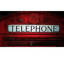 Telephone. Photographic Print