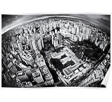 Sao Paulo sky view Poster