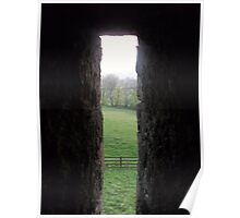 behind stone walls Poster
