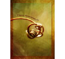 Happy Anniversary (for Jerry and Sherry) Photographic Print