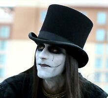 A street musician mime by luckylarue