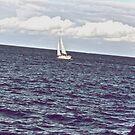 Sad Blue is sea... by Kornrawiee