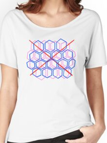 Neon Hive Women's Relaxed Fit T-Shirt
