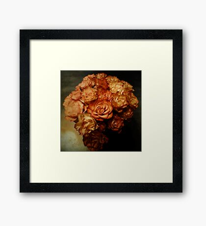 Roses for my love Framed Print