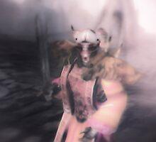 Swordplay in Ald'ruhn's Dawn Shadow by Jason Lee Jodoin