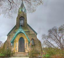 Charles Baber Cemetery Chapel by Sharon Batdorf