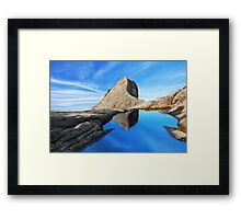 St. John's peak at Mount Kinabalu Framed Print