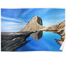 St. John's peak at Mount Kinabalu Poster