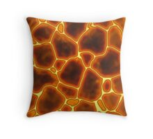 Molten Lava Throw Pillow