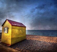 Yellow Hut by Mike Matthews