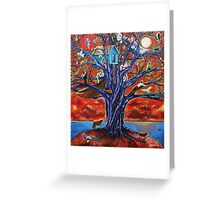 'Tree of Life, Death & Everything In-Between' Greeting Card