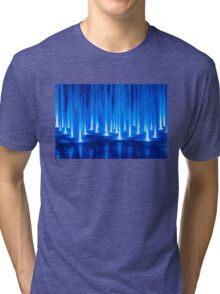 Multimedia Fountains in Plovdiv, BULGARIA Tri-blend T-Shirt