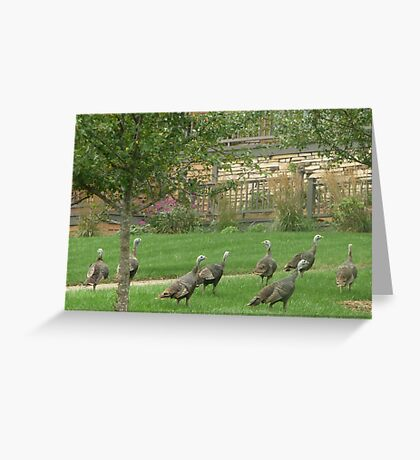 Dinner Guests Greeting Card