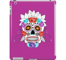 Fun Bright Trendy Sugar Skull iPad Case/Skin
